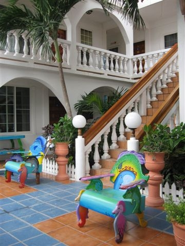 Belize Blue Tang resort San Pedromje #3 092