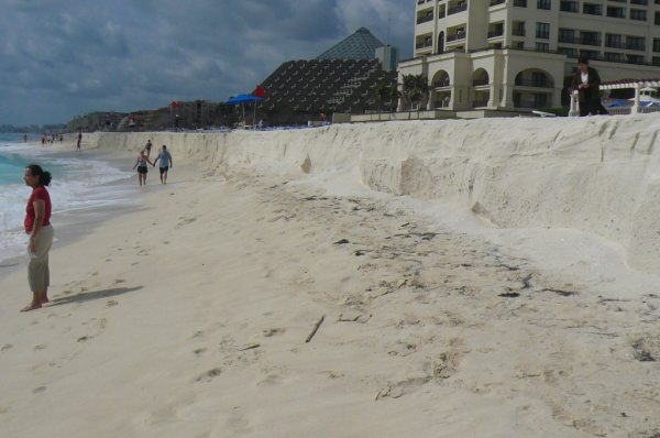 Marcia's CUN beach pic near water 1