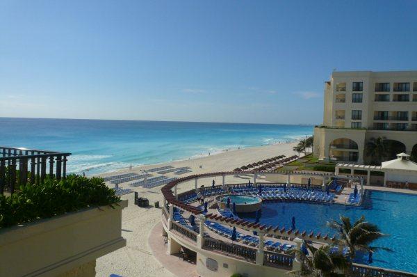 Marcia CUN areial beach 2
