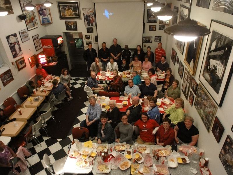 DC group at Bens Chili bowl 2