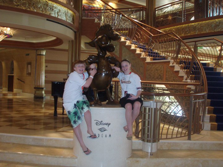 Disney Dream lobby