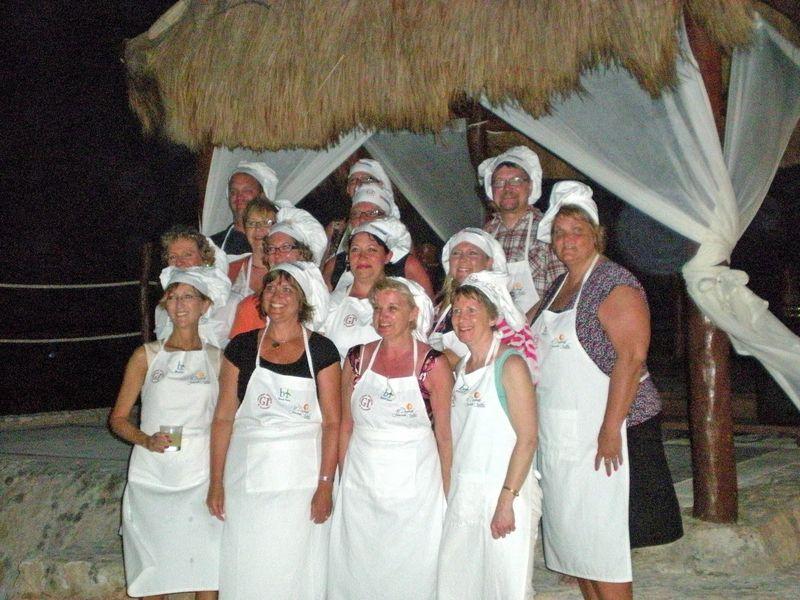CUN mgrs group dinner